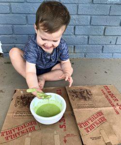 A Super Easy & Gooey DIY Natural Slime Recipe For Kids